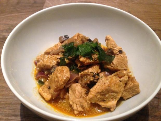 Turkey Coconut Curry